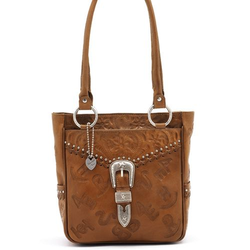Caramel Leather Everyday Tote